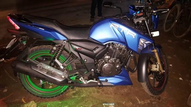 TVs Apache RTR 160 Matte Blue